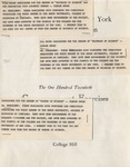 1961 Commencement Program