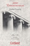 2000 Commencement Program