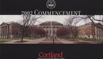 2002 Commencement Program by State University of New York College at Cortland