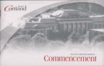 2011 Commencement Program by State University of New York College at Cortland