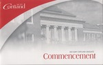 2012 Commencement Program