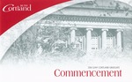 2016 Commencement Program by State University of New York College at Cortland