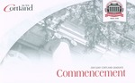 2019 Commencement Program by State University of New York College at Cortland