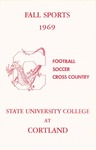 1969 Fall Sports Guide by State University of New York College at Cortland