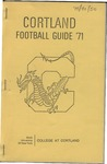 1971 Team Guide, Football by State University of New York College at Cortland