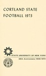 1973 Team Guide, Football by State University of New York College at Cortland