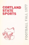 1977 Team Guide, Football by State University of New York College at Cortland
