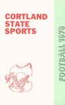1978 Team Guide, Football by State University of New York College at Cortland