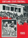 1985 Team Guide, Football by State University of New York College at Cortland