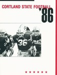 1986 Team Guide, Football by State University of New York College at Cortland
