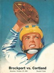 1951 Program, Football by State University of New York College at Cortland