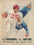 1954 Program, Football by State University of New York College at Cortland