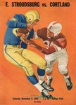1956 Program, Football by State University of New York College at Cortland