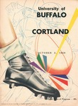 1959 Program, Football by State University of New York College at Cortland
