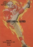 1964 Program, Football by State University of New York College at Cortland