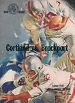 1965 Program, Football by State University of New York College at Cortland