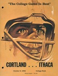 1966 Program, Football by State University of New York College at Cortland