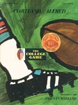 1969 Program, Football by State University of New York College at Cortland