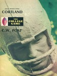 1970 Program, Football by State University of New York College at Cortland