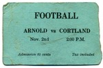 1935 Ticket, Football