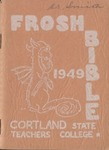 1949 'Frosh' Bible by State University of New York College at Cortland