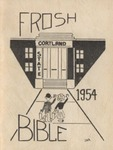1954 'Frosh' Bible by State University of New York College at Cortland