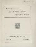 Alpha Delta, 9th Annual Public Exercise, 1902