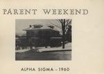 Alpha Sigma, Parents Weekend, 1960