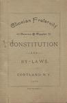 Clionian, Constitution, 1892