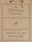 Clionian, Play, 1902 by State University of New York at Cortland