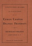 Delphic, Constitution By Laws