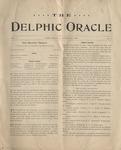 Delphic, Oracle V1N1