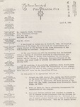 Phi Kappa Phi, Charter Letter