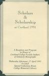 Phi Kappa Phi, Scholars Program by State University of New York at Cortland