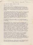 Phi Kappa Phi, Spaeth Address
