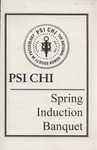 Psi Chi, Induction Program by State University of New York at Cortland