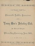 Young Men's Debate Club, 11th Public Exercises