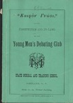 Young Men's Debate Club, Constitution By Laws by State University of New York at Cortland