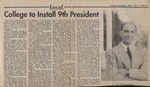 Inauguration Newspaper Clipping