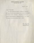 Letter from Ben Sueltz by State University of New York at Cortland
