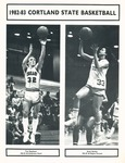1982-1983 Team Guide, Men's Basketball by State University of New York College at Cortland