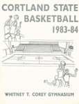 1983-1984 Team Guide, Men's Basketball by State University of New York College at Cortland