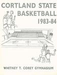 1983-1984 Team Guide, Men's Basketball