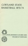 1973-74 Team Guide, Men's Basketball by State University of New York College at Cortland