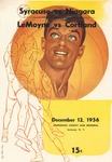 1956 Program, Men's Basketball by State University of New York College at Cortland
