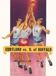 1957 Program, Men's Basketball by State University of New York College at Cortland