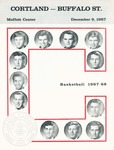 1967 Program, Men's Basketball by State University of New York College at Cortland
