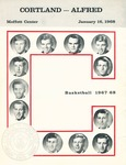 1968 Program, Men's Basketball