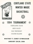1984 Tournament, Men's Basketball by State University of New York College at Cortland
