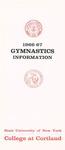 1966-1967 Team Guide, Men's Gymnastics